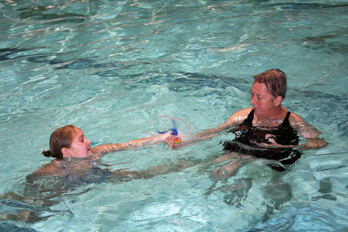 Informatie aangepast zwemmen